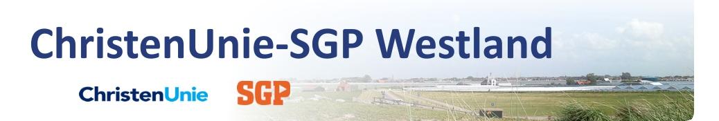 ChristenUnie-SGP Westland