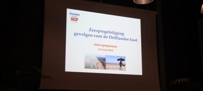 Drukbezocht mini-symposium zeespiegelstijging