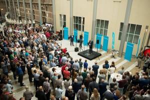 Open dag CU 2014 ontvangst