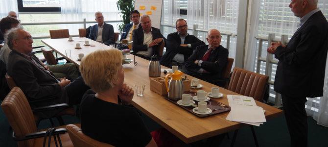Statenfractie CU-SGP Zuid-Holland en fractie CU Midden-Delfland op bezoek in Westland