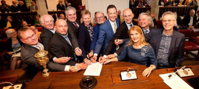 Nieuw bestuur Delfland beëdigd