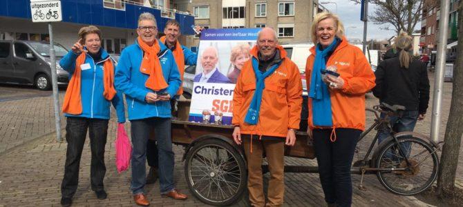 Campagneteam in De Lier en Monster